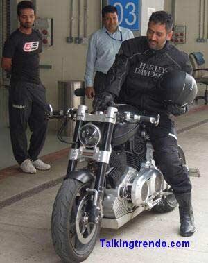 Mahendra Singh Dhoni Rides
