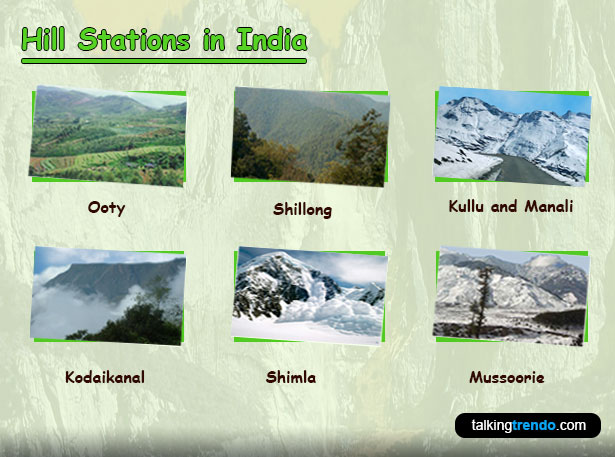 Top Hill Stations in India
