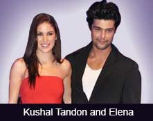 Kushal Tandon and Elena