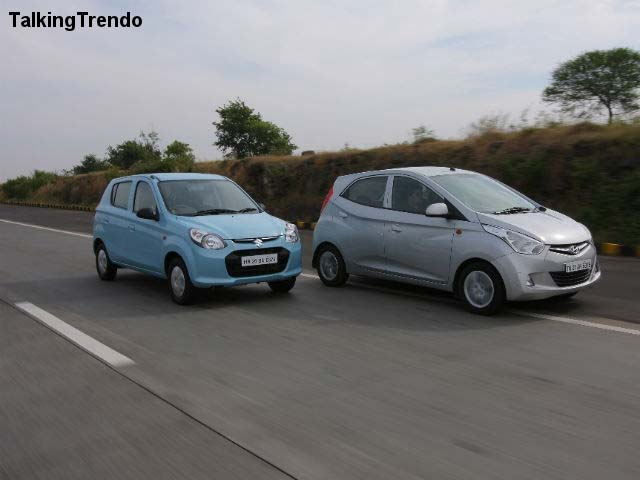 Maruti Alto 800 vs Hyundai Eon