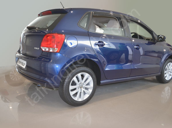 Volkswagen New Polo Side