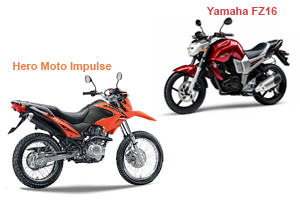 Hero Moto Impulse Vs Yamaha FZ16