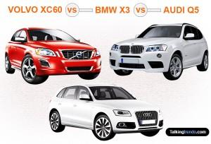 Volvo Xc60 Vs Audi Q5 >> VOLVO XC60 v/s BMW X3 v/s AUDI Q5