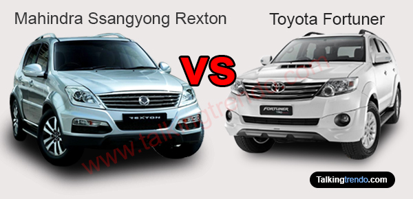 Mahindra Ssangyong Rexton vs Toyota Fortuner