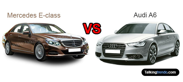 Mercedes E-class vs Audi A6