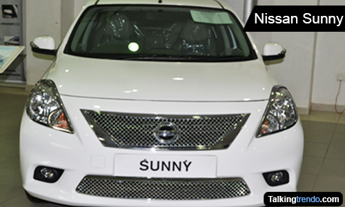 NIssan Sunny - Front