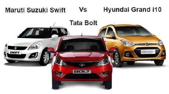 Tata-Bolt-vs.-Hyundai-Grand-i10-vs.-Maruti-Suzuki-Swift