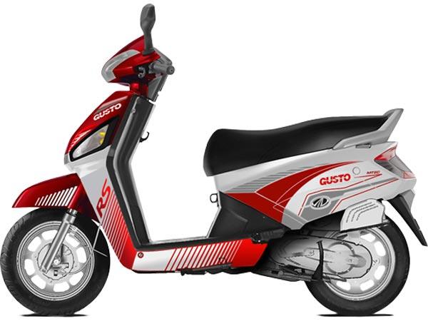 mahindra-gusto-rs-red